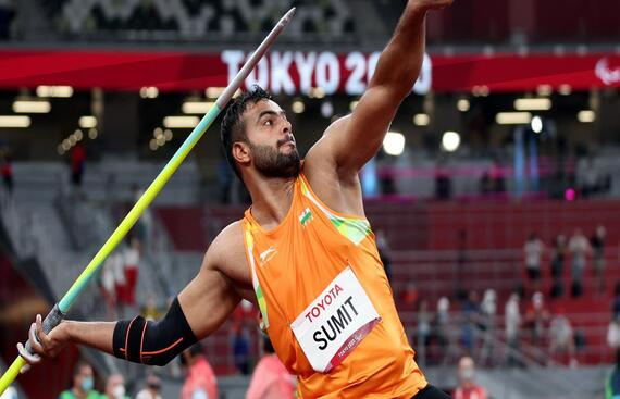 Sumit Antil Wins India's Second Gold Medal, Breaks Record Thrice