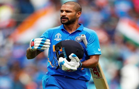 Shikhar Dhawan Ruled Out of WC with Thumb Fracture