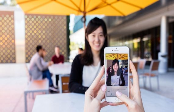 Microsoft app lets users explore photos by touch