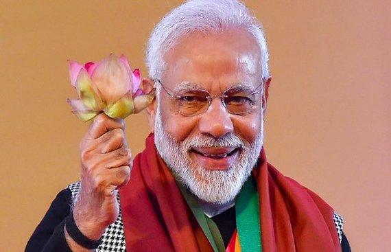 Film fraternity hails Modi's smashing victory