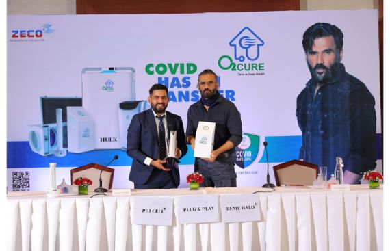 Actor-Entrepreneur Suniel Shetty Sets to Get India Back to Work Again with O2Cure