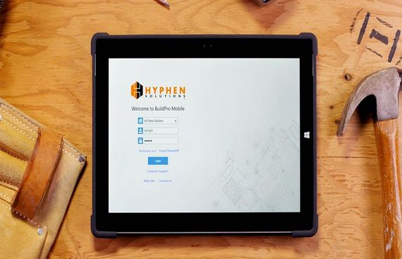 Hyphen launches BuildPro Mobile App to Address Home Builders Needs