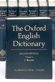 Oxford dictionary to be offered only in virtual space?
