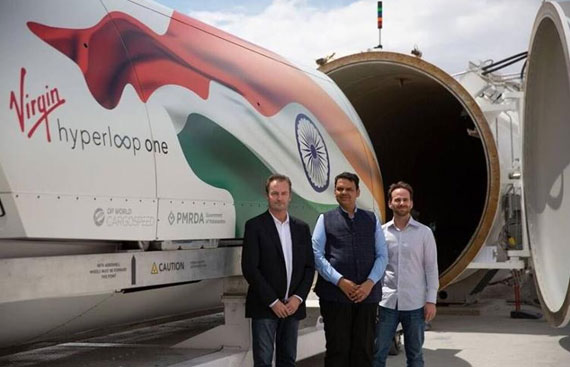 Pune-Mumbai Hyperloop Soon To Be a Reality