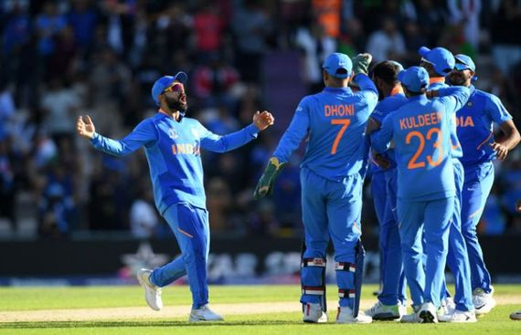 India Thrash Windies to Put One Foot in the WC Semis