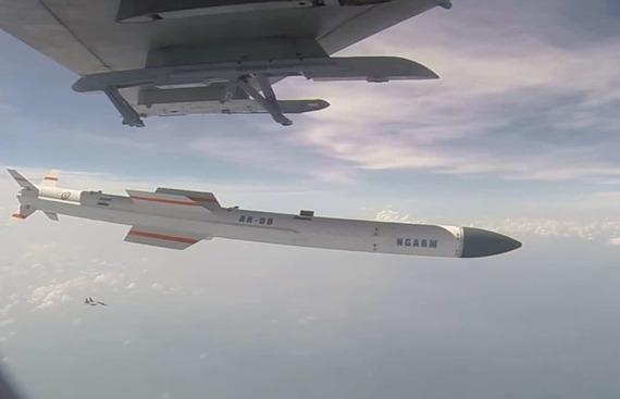 India successfully flight-tests anti-radiation missile