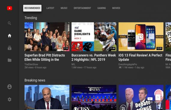 YouTube to Shut 'Leanback' TV Web Interface