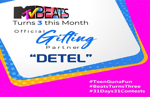 Detel becomes official Gifting Partner for 'MTV Beats Turns 3 Contest'
