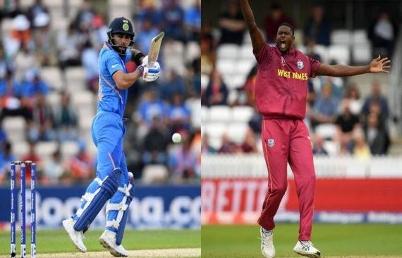 India Opt to Bat Against West Indies