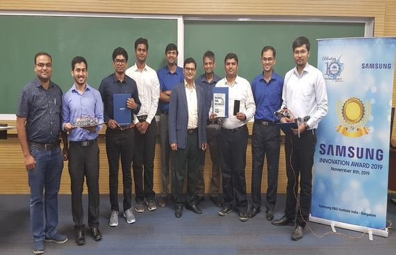Samsung Recognises IIT-Indore Students for Innovation