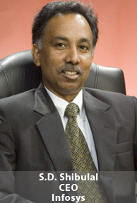 S.D. Shibulal, CEO, Infosys