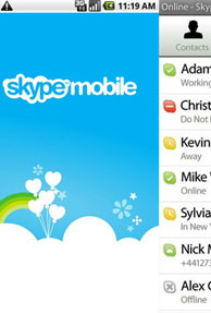 Skype launches Wi-Fi, 3G video calling to iPhone app