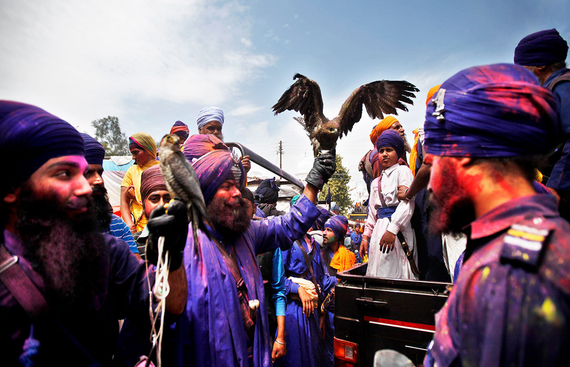 Punjab's Warrior Holi