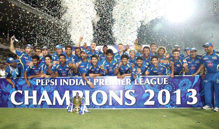 IPL title winners