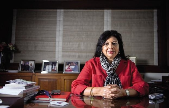 5 Lessons from the Accidental Entrepreneur, Kiran Mazumdar Shaw