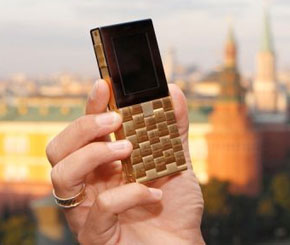 18 Carat Gold Phone