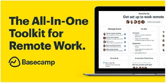 Basecamp software