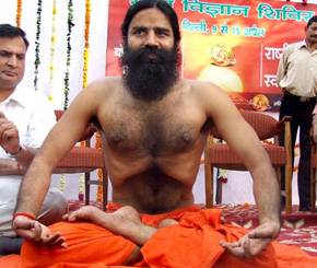 Swami Ramdev 46 Has Been Preaching Yoga To Every Household Through Broadcast And His Magazines He Brought Light Between The Common Men Women