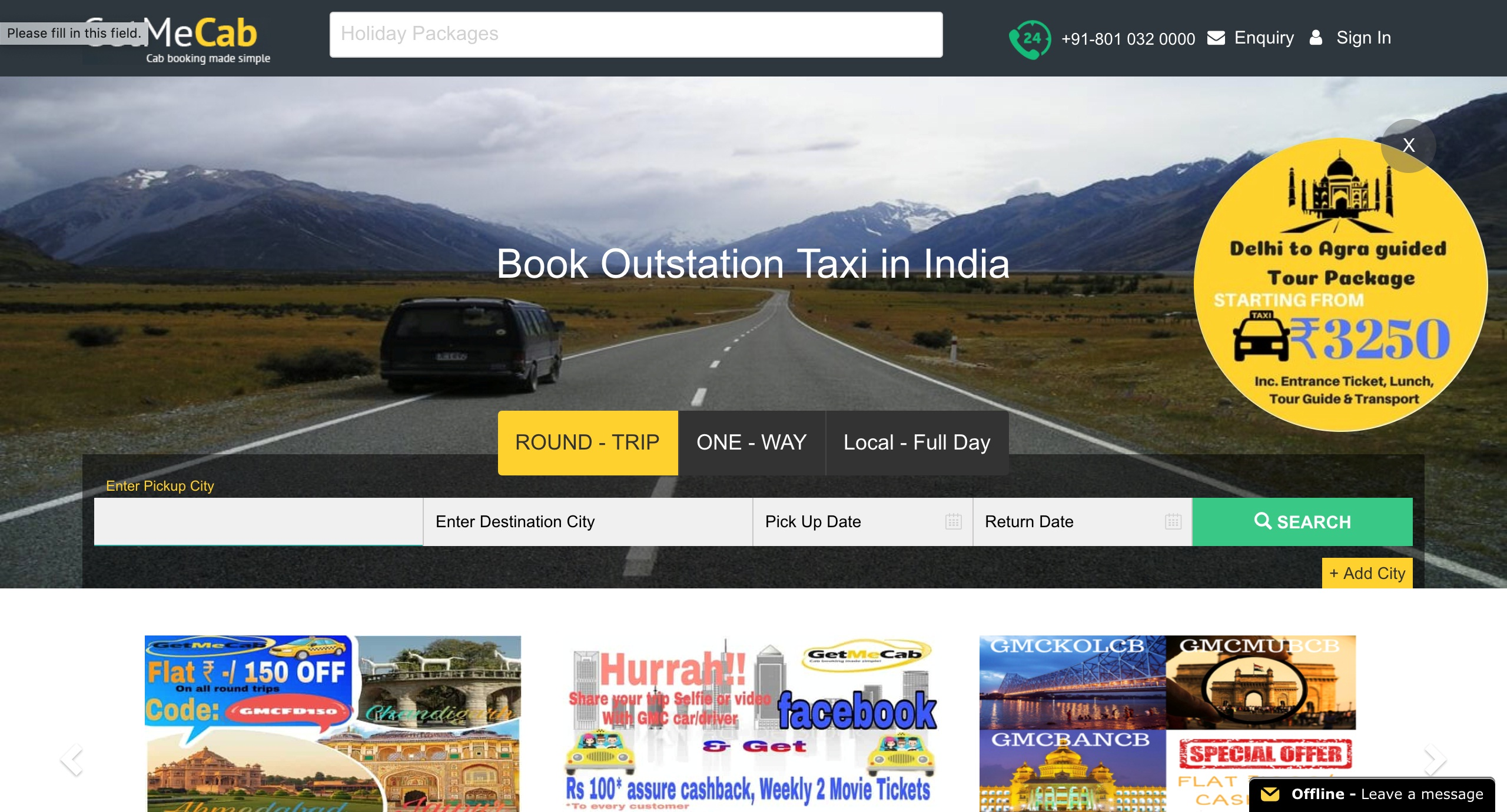 The 5 Best Intercity Cab Services in Delhi