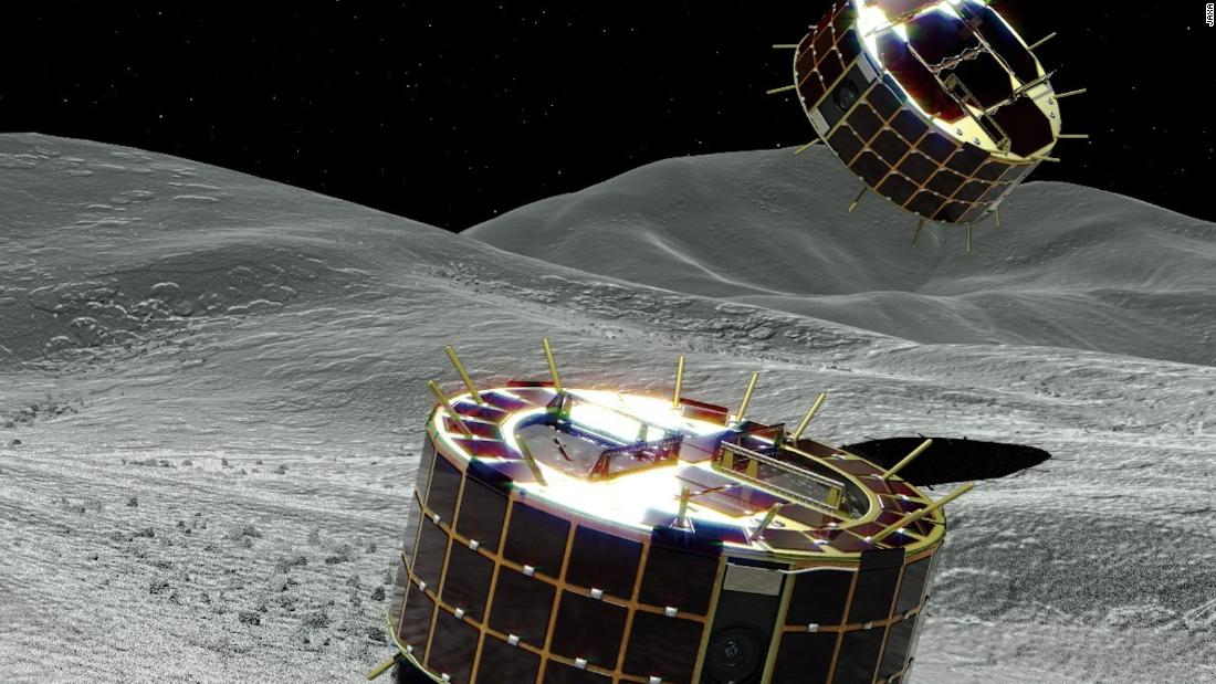 Japan Lands 2 Robot Rovers on Asteroid Surface