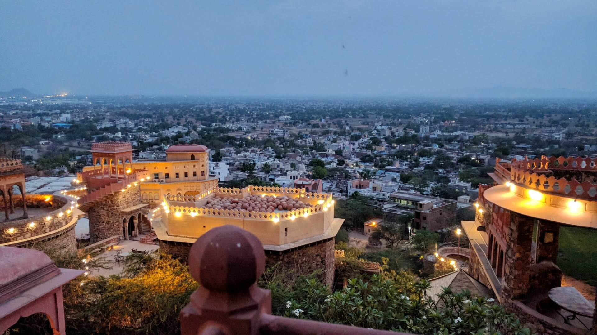 Neemrana Fort- A Pinch of Historical Wonder