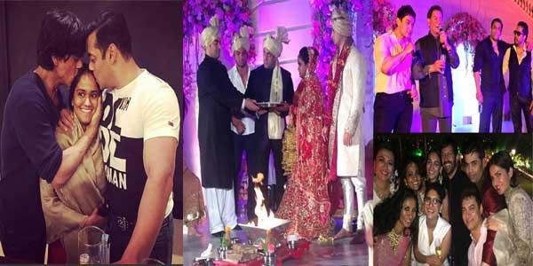 Salman's sister Arpita's Wedding