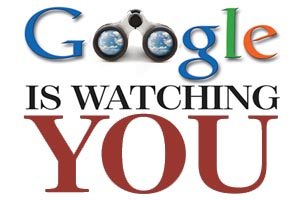 is google watching you Google's new privacy policy allows it to consolidate information it gathers on users as they surf the company's various web sites, and users can't opt out.