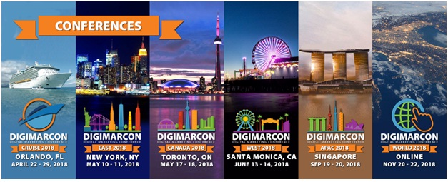5 Digital Marketing Conferences To Attend in 2018
