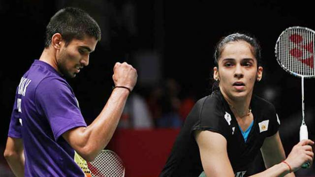 shreekant and saina