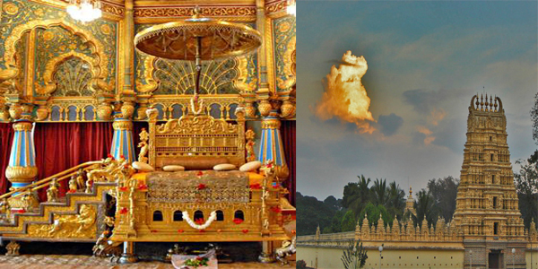 The Royal Throne 12 Hindu Temples If You Visit Palace During Dussehra Would Also Get To See Seat Or Chinnada Simhasana Ratna