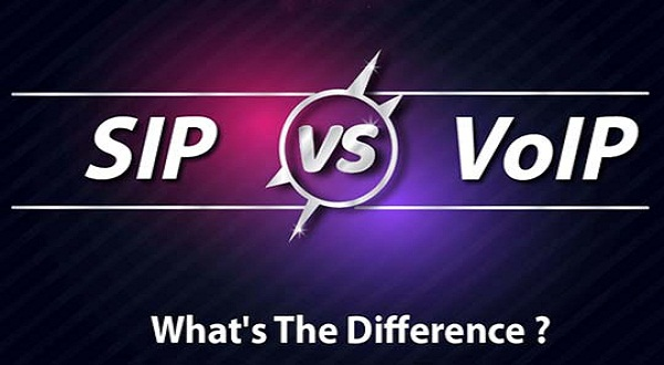 Key Differences between VoIP and SIP