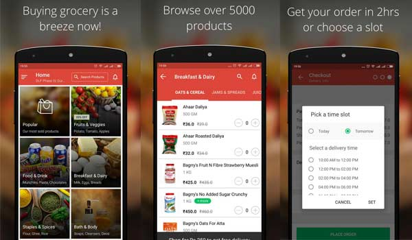 top 10 best online grocery shopping apps
