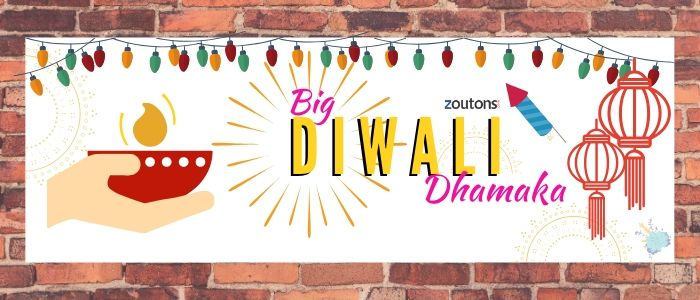 Zoutons Diwali Extravaganza: Get Upto 50% Off On All Major Categories