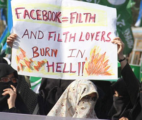 Pakistan Bans Facebook