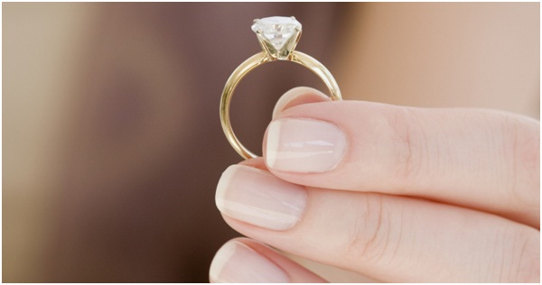 Cremation diamond rings