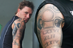 Image result for brendon mccullum tattoos