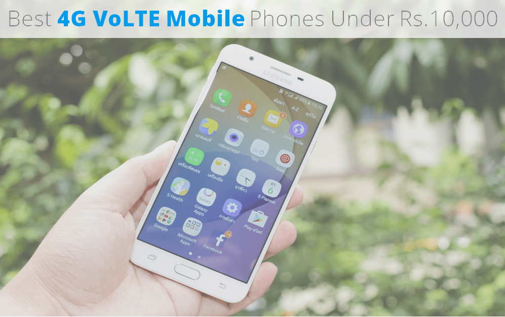 Best 4g Volte mobile phones under