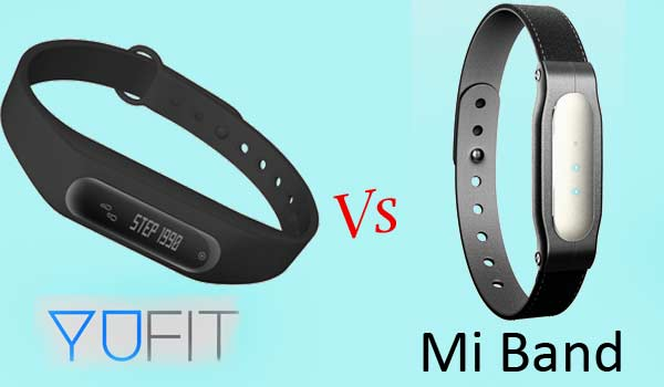 Mi Band Vs YuFit