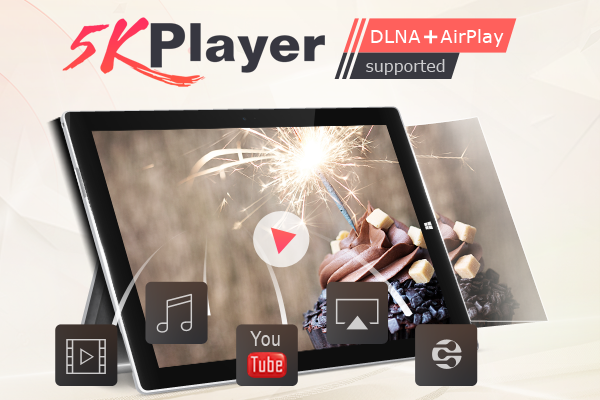 5KPlayer – Free 4K UHD Player for Windows and Mac