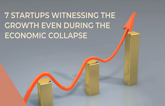 7 startups witnessing the growth even during the economic collapse