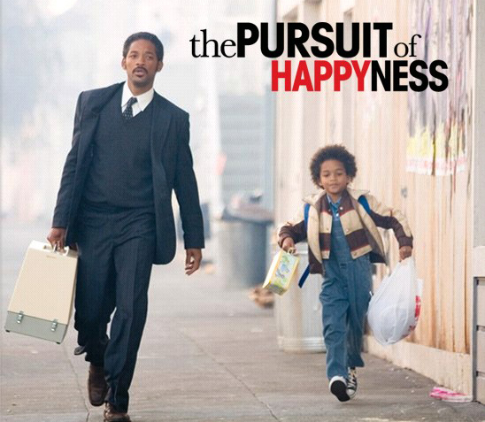 the pursuite of happiness