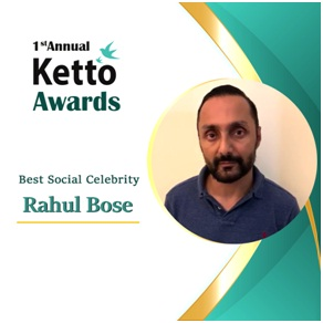 Best Social Celebrity ? Rahul Bose