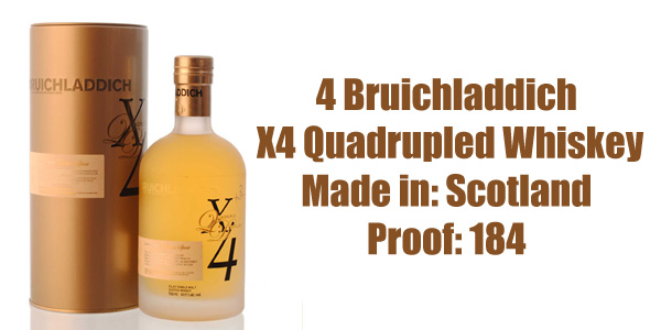 Image result for BRUICHLADDICH X4 QUADRUPLED WHISKY