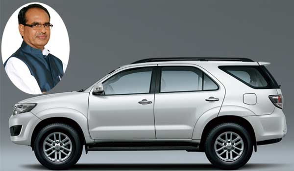Image result for शिवराज चौहान की कार