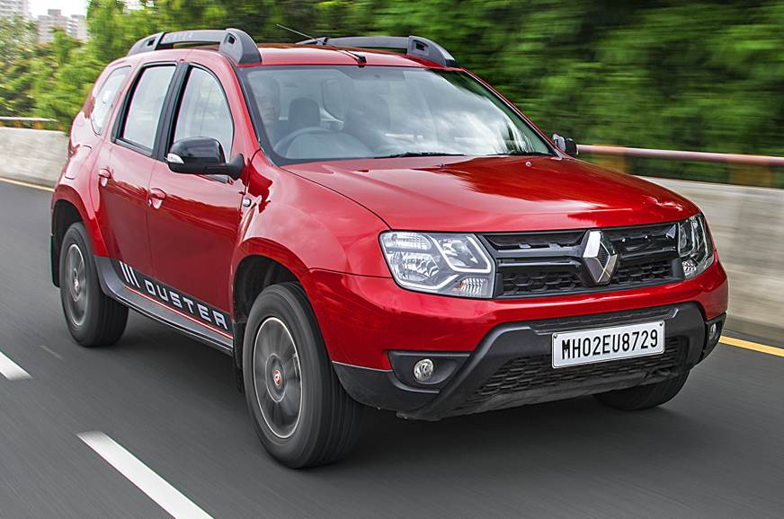 2018 Renault Duster red front angle
