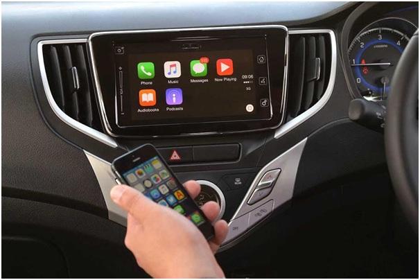 Maruti car Apple Carplay