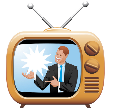 history and effects of tv ads