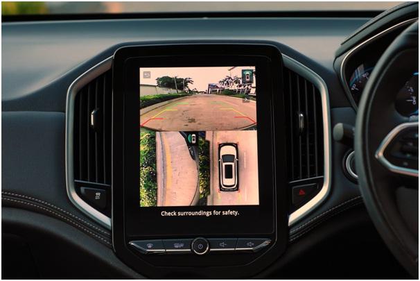 2019 MG Hector interior 360-degree camera