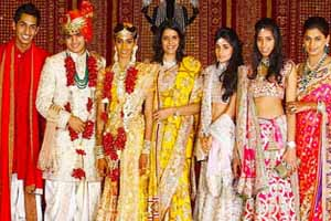 G V Krishna Reddy S Grand Daughter Mallika Marriage To The Scion Of Indu Group Sidharth Was Gest Wedding Affair In Canvas Hyderabad