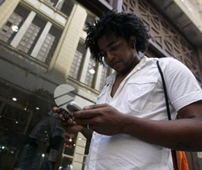 Cuba baned cell phones